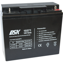 12V 18Ah DSK Battery Lead High Discharge (UPS-UPS) | Silver Sanz