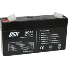 Lead Battery DSK 6v. 1.2Ah | Silver Sanz