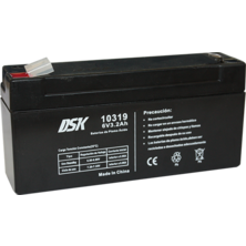 Lead Battery DSK 6v. 3,2Ah | Silver Sanz