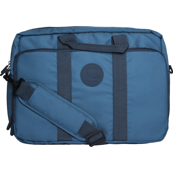Smile Maletín Smart Laptop Bag Deep Blue para portátiles de hasta 15'6 pulgadas