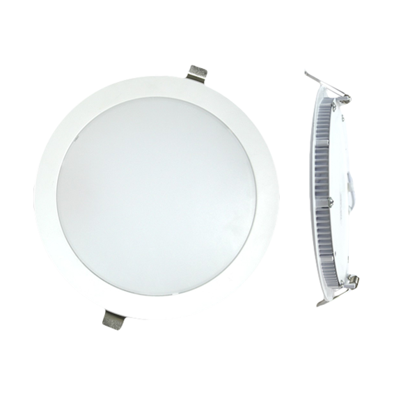 LED ECO PACK Downlight 18W 4000K Blanc | Silver Sanz