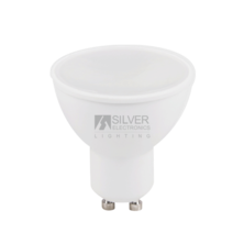 Silver Electronics Bombilla LED Eco multi-LED7W GU10 3000K 120º