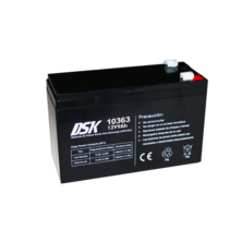 12V 9Ah DSK Battery Lead Acid High Discharge (UPS-UPS) | Silver Sanz