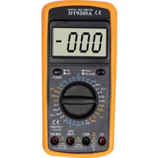 Digital Multimeter DT9205A | Silver Sanz