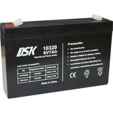 Lead Battery DSK 6v. 7Ah | Silver Sanz