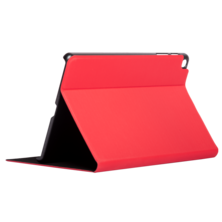Silver HT BookCase Wave Case for Samsung TAB A 2019 10'1 inch (T510 / T515) Red