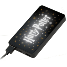 Powerbank 6000 mAh led light Harry Potter | Silver Sanz