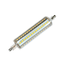 LED Lineal Regulable 118mm 9W 3000K 360º | Silver Sanz