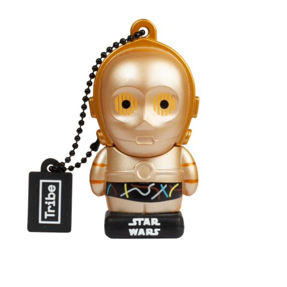 Memoria USB - Star Wars C3PO NV 32GB | Silver Sanz