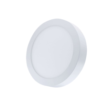 Silver Electronics Downlight GORT superficie circular 20W 3000K Blanco