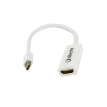 Adapter MiniDisplay Port 1.2a (male) to HDMI (female) - 4K - 15cm (for Apple) white | Silver Sanz