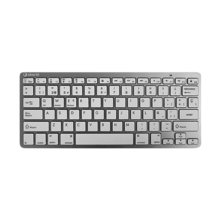 Silver HT  Teclado Inalámbrico Colors Edition - Blanco