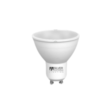 LED Eco multi-LED 4W GU10 3000K 120º | Silver Sanz