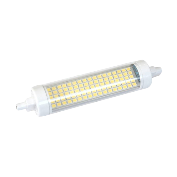 LED Lineal 118mm 8W 3000K 180º | Silver Sanz