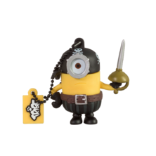 USB 16GB - Minion Pirata | Silver Sanz