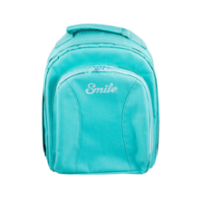 Smart backpack - Turquoise | Silver Sanz