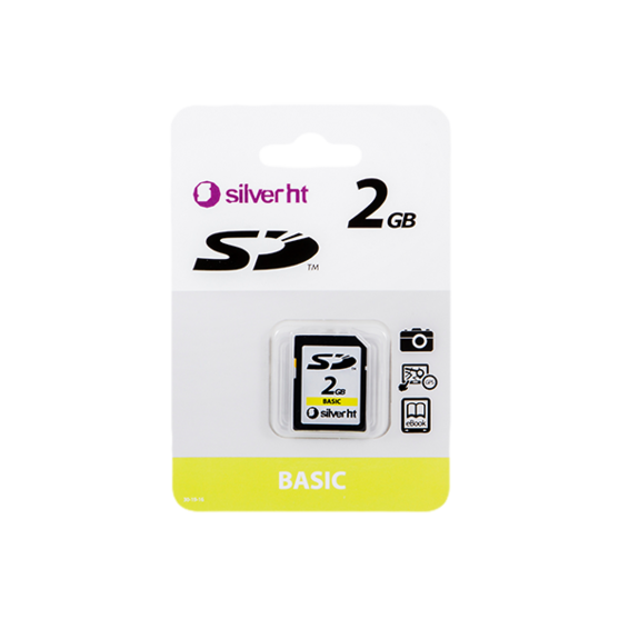 2 GB SD BASIC | Silver Sanz