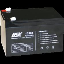 DSK Batería Plomo Ácido - Tecnología Gel 12V 12Ah