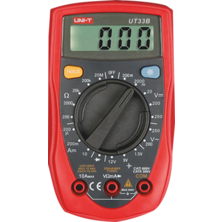 Digital Multimeter UT33B | Silver Sanz