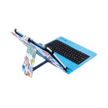 "PIXEL GAMER Housse universelle + clavier MicroUSB (9 - 10,1 "") 