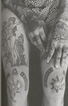 Russian criminal tattoo /