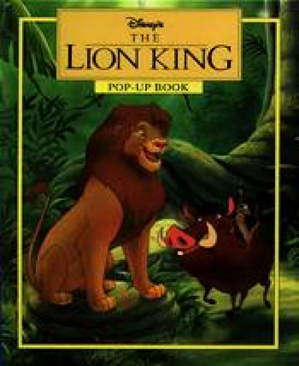 The lion king pop-up book /