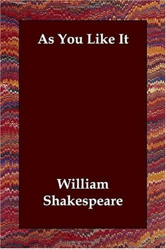 As you like it / William Shakespeare