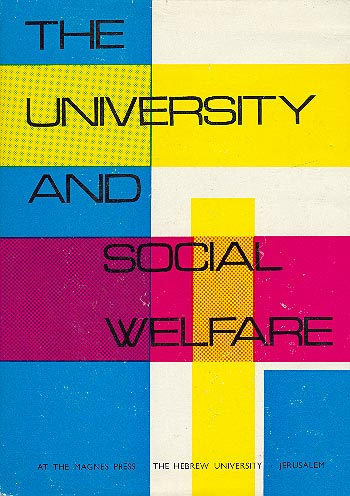 The University And Social Welfare /