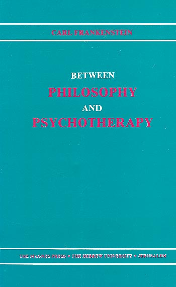 Between Philosophy And Psychotherapy /