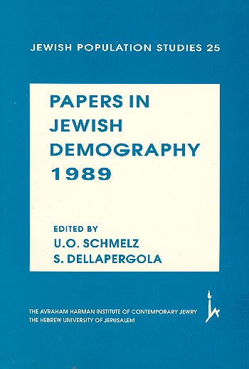 Papers In Jewish Demography, 1989 /