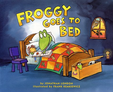 Froggy goes to bed / Jonathan London
