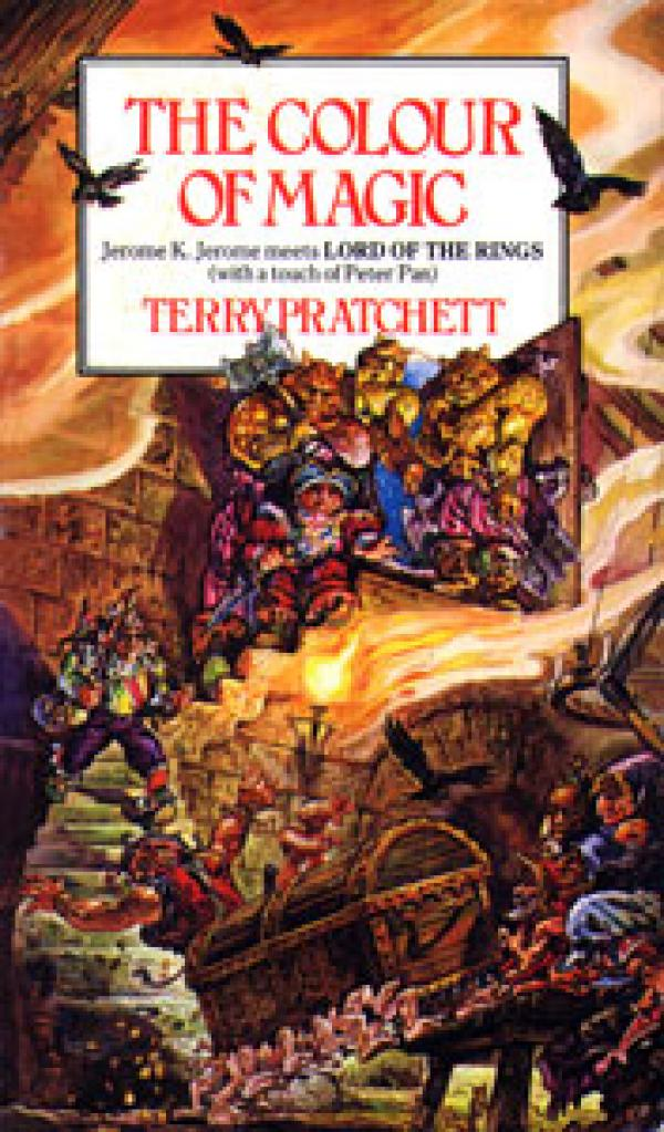 The Colour of Magic - (Discworld, Rincewind 1) - Terry Pratchett