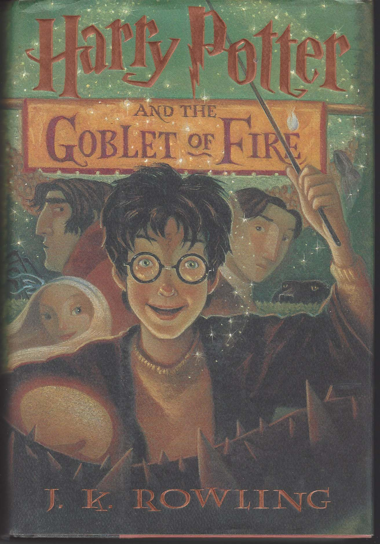 Harry Potter and The Goblet of Fire   - Harry Potter #4 - J.K. Rowling
