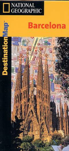 Destination map - Barcelona / Nationa Geographic