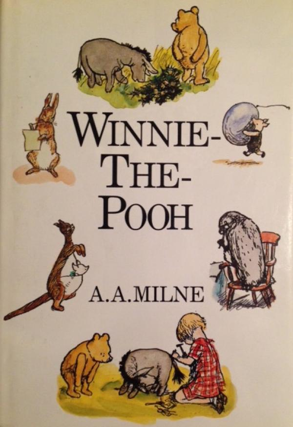 Winnie-The-Pooh - With colour illustrations by E. H. Shepard / A.A. Milne