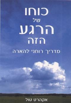כוחו של הרגע הזה - מדריך רוחני להארה - אקהרט טול