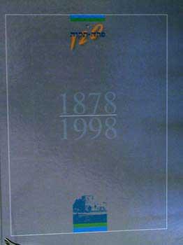 אם ועיר פתח תקוה - 1998-1878 / אריה חשביה