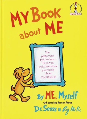 My book about me - Dr. Seuss