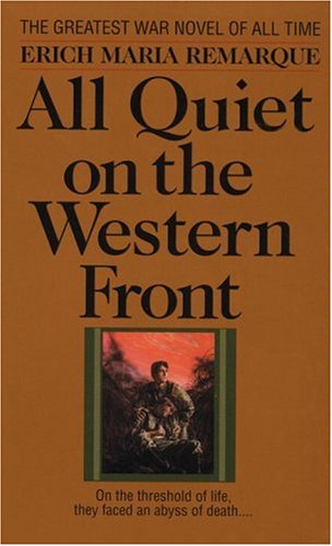 All quiet on the western front - A CREST BOOK # / Erich Maria Remarque