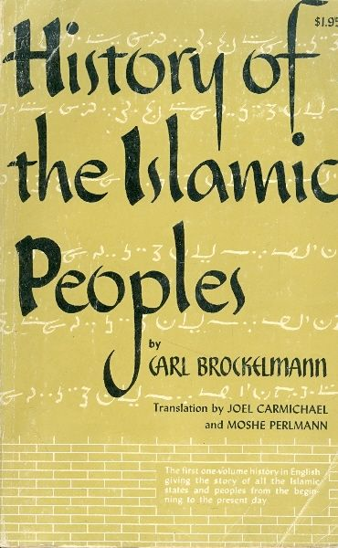 History of the islamic peoples / Carl Brockelmann