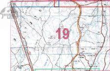 מפת סימון שבילים מנוילנת (19) מישורי פארן והנחלים - החברה להגנת