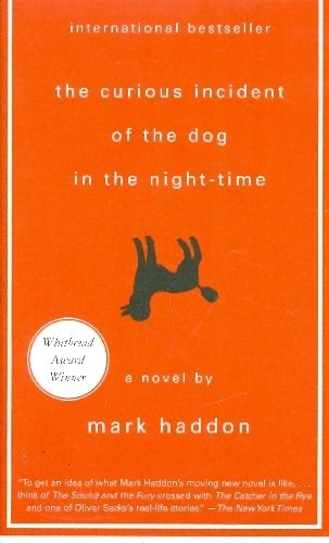 THE CURUIOS INCIDENT OF THE DOG IN THE NIGHT TIME / mark haddon