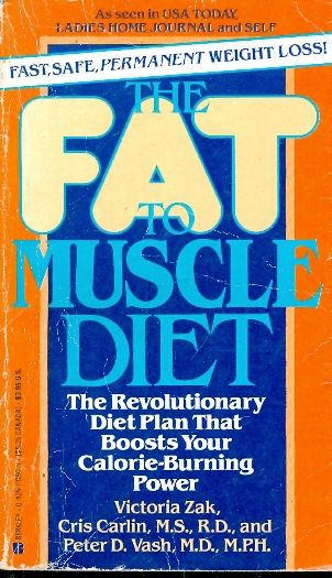 THE FAT TO MUSCLE DIET / VICTORIA ZAK