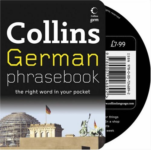 Collins German Phrasebook CD Pack: The Right Word in Your Pocket (Collins Gem) / Collins UK