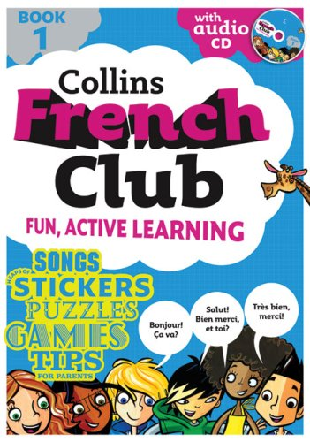 Collins French Club: Book 1 (Book & Audio CD) (Bk. 1) / Rosi McNab