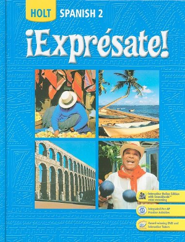 Expresate: Spanish 2 (Holt Spanish: Level 2) (Spanish Edition) / Nancy A. Humbach