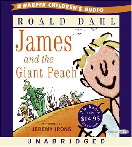 James and the Giant Peach Unabr CD Low Price - Roald Dahl