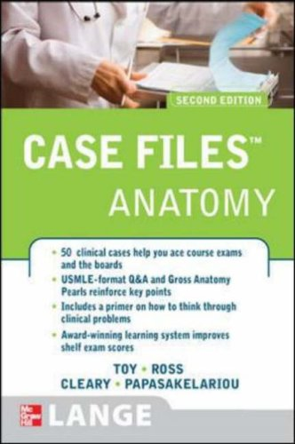 Case Files Gross Anatomy 2nd Edition Eugene Toy