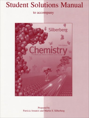 mcgraw hill scienceengineeringmath student solutions manual to accompany chemistry the molecular nature of matter and change martin fandeluxe Gallery
