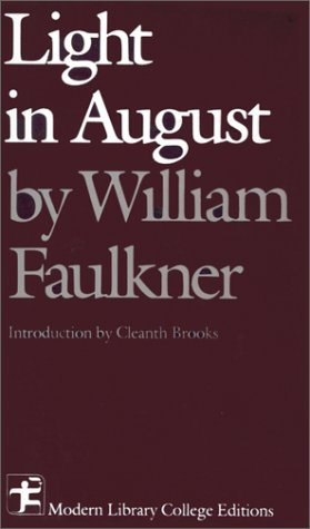an analysis of the novel light in august by william faulkner Theme of isolation in william faulkner's light in august and, subsequently, its implications at the literary particularly in the novel light in august and begin the analysis proper.